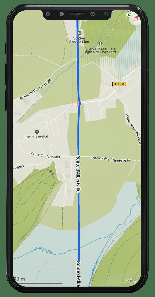 suivi trace gps itinéraire roadtrip gotrip